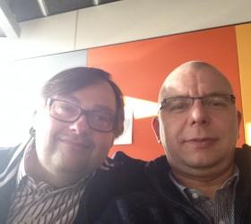 Axel P. Sommerfeld mit Mike
