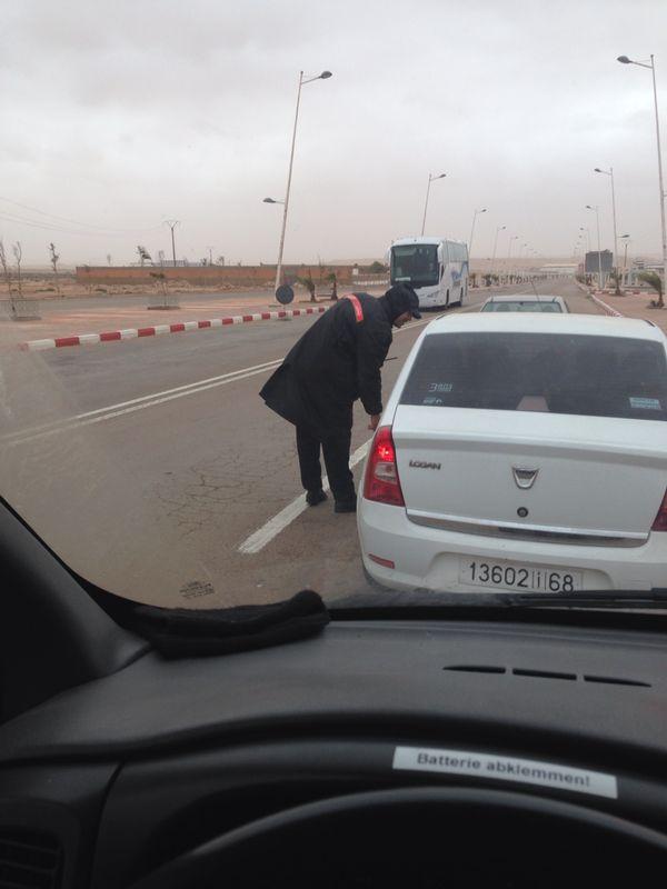 Polizei Kontrolle wegen 6km zu schnell: 31 EUR waren fällig