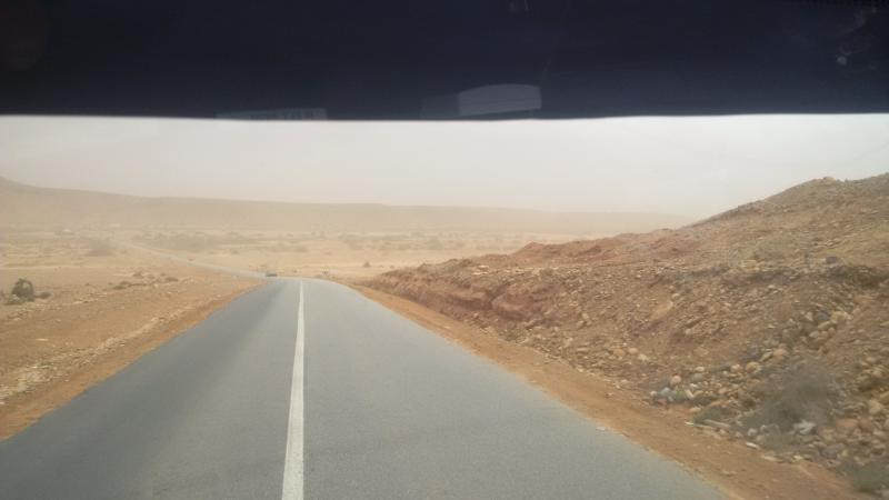 Sandsturm voraus....